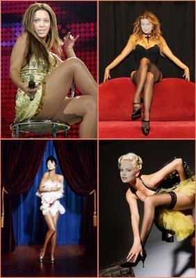 Женские шаблоны для фотошопа