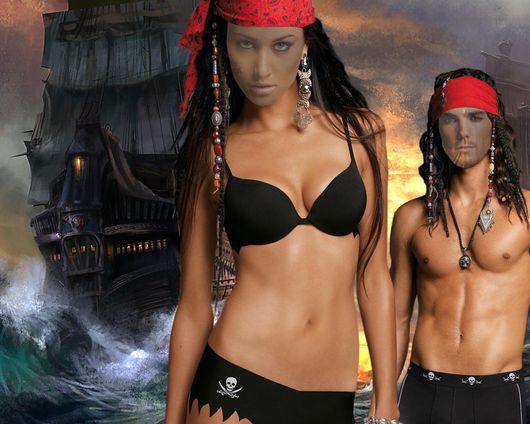 Шаблон для фотошоп - Пираты